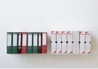 "Wall bookshelves ""UBD"" - Set of 2 - 23 inch"