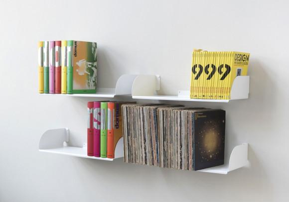 """Estantes para libros """"UBD"""" - Juego de 4 - 60 cm"""