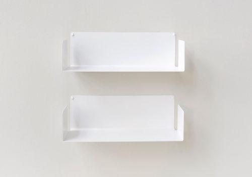 "Mensola modulare ""US"" - 45 cm - Set di 2 - Acciaio"