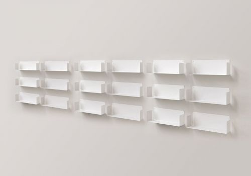 "Set of 6 ""U"" - Wall shelf"