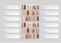"Floating shelves  ""U"" - 60 cm - Set of 18"