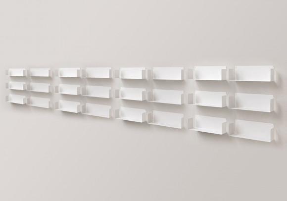 """Estantes de pared """"U"""" - 60 cm - Juego de 24"""