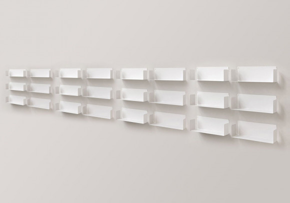 "Mensola modulare ""U"" - 60 cm - Set di 24 - Acciaio"