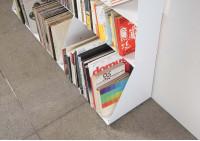 Range cd & vinyle 3 niveaux 60x65x15 cm