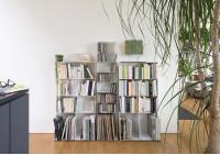 Range cd & vinyle 7 niveaux 60x125x15 cm