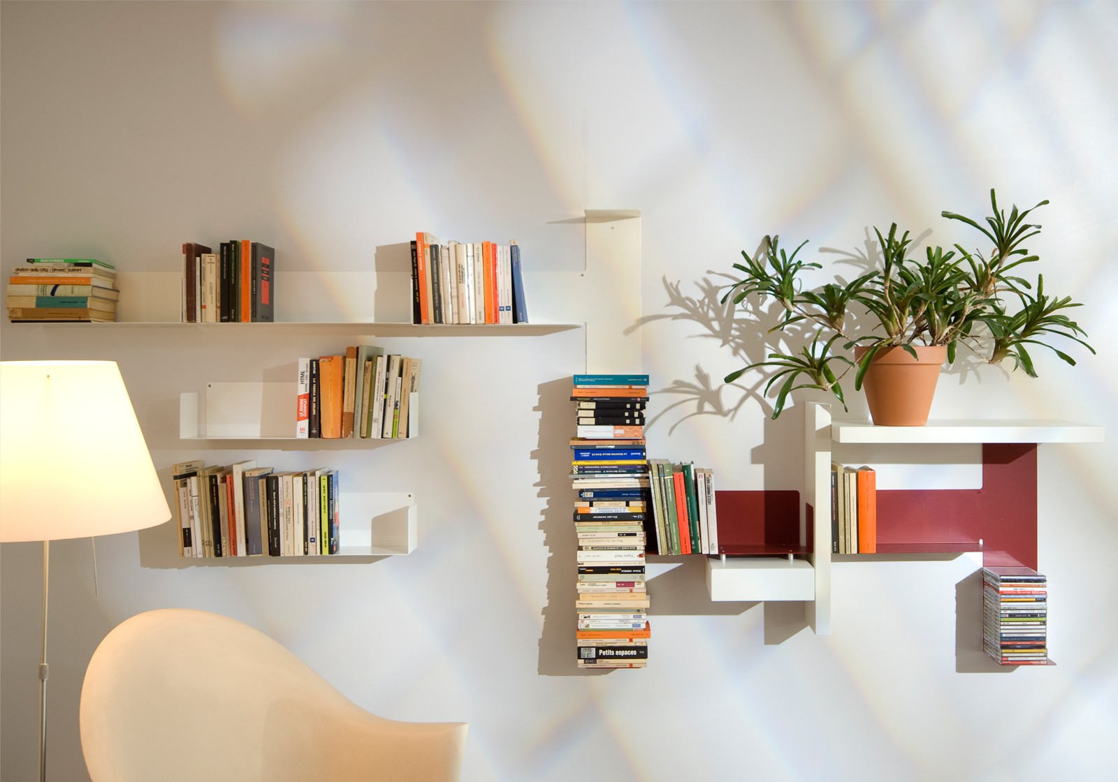 "Bookshelves Design bookshelves design ""grande mixte"" - teebooks"