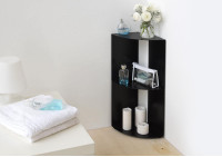 Corner shelf DANgolo - Steel - 25x25x68cm