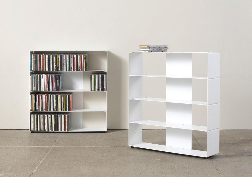 meuble cd 4 niveaux 60x60x15 cm. Black Bedroom Furniture Sets. Home Design Ideas