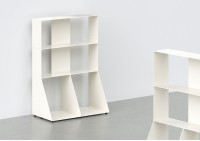 Small Bookcase W60 H85 D32 cm - 3 shelves