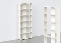 Meuble Bibliothèque 6 niveaux L60 H150 P15 cm