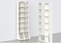 Librerias muebles per libros7 niveles L60 A185 P32 cm