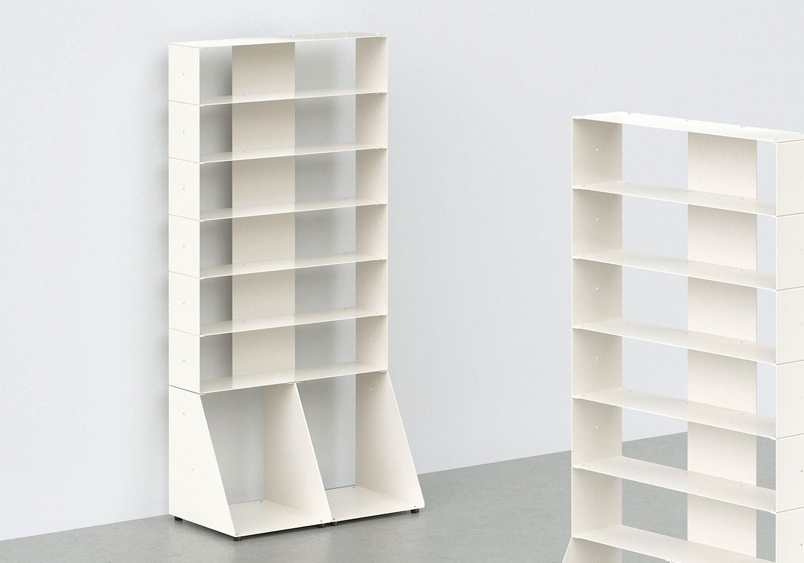 Cd Amp Vinyl Storage W60 H125 D32 Cm 7 Shelves