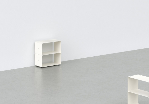 Cd storage W30 H30 D15 cm - 2 shelves