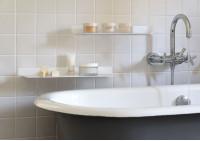 Étagère salle de bain TEEline - 60 cm - Lot de 2