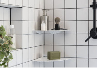 Bathroom shelf TEEgolo 36cm - Set of 2
