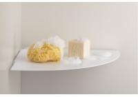 Mensole per bagno TEEgolo 36 cm - Set di 2 - Acciao
