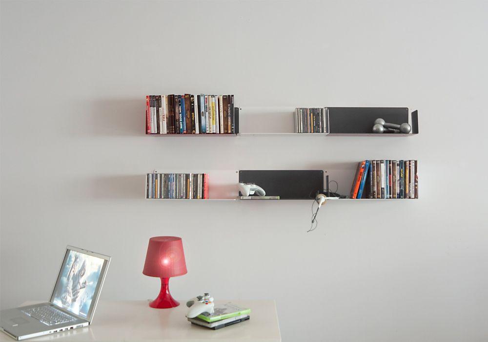 """Bien-aimé Bibliothèque design """"BUREN"""" - étagère murale - TEEbooks AB95"""