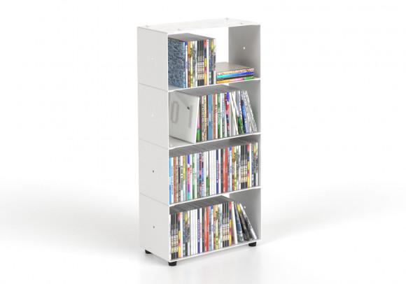 Porta Cd 30 cm 4 livelli L30 H60 P15 cm