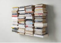 Estante para libros - Biblioteca vertical 60 cm - Juego de 4