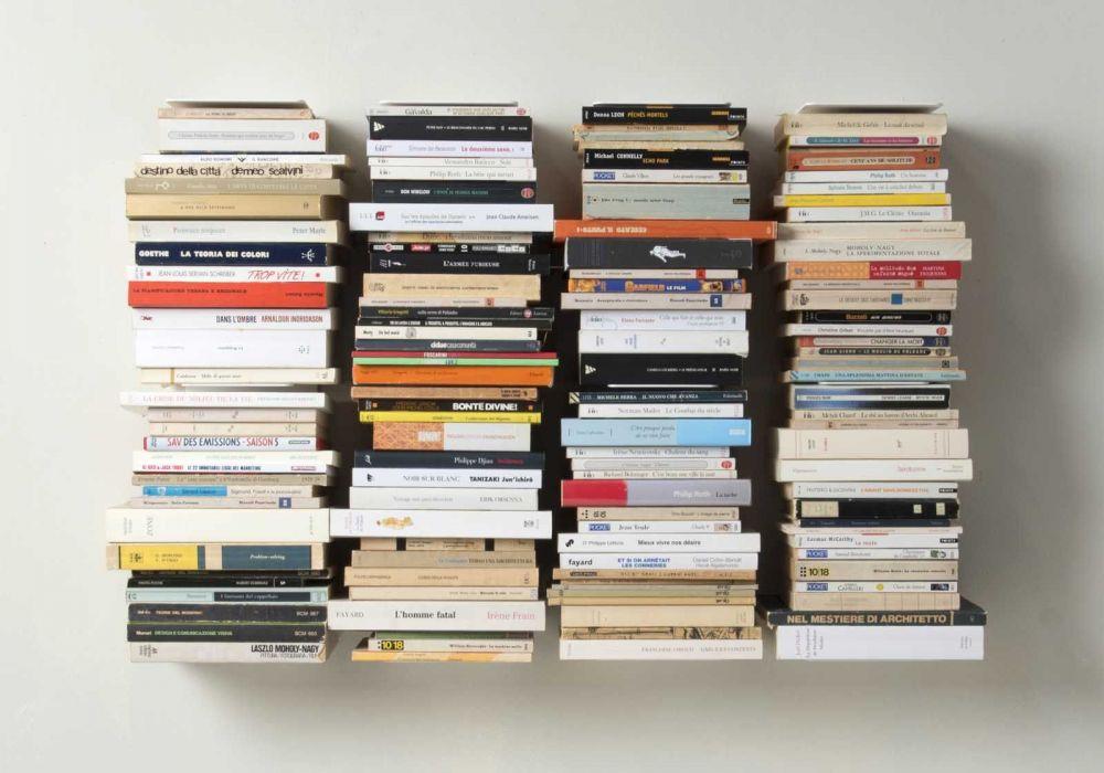 Bookshelf - 60 cm Vertical bookcase - Set of 4
