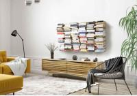 Mensole per libri - Libreria verticale 60 cm - Set di 6