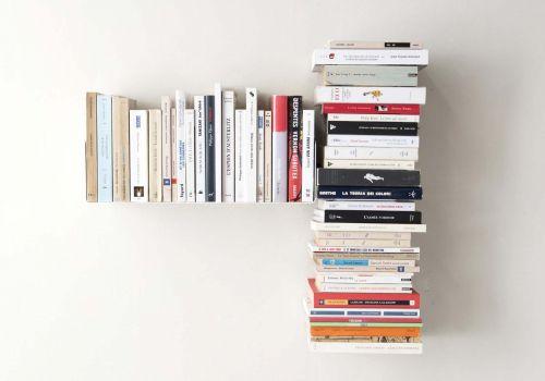 Étagère pour livre asymétrique GAUCHE- 60x60 cm
