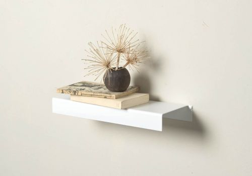 Scaffale a parete TEEline 45 cm - Set di 2 - Acciaio