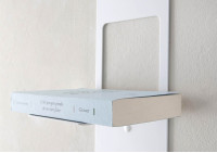 "Asymmetrical floating shelf ""T"" LEFT"
