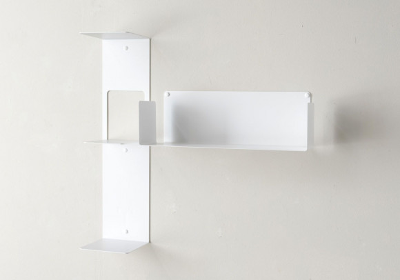 "Asymmetrical Floating shelf ""T"" RIGHT"
