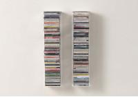Bookshelf - Vertical bookcase - Set of 2
