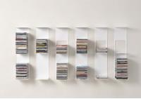 Bookshelf - Vertical bookcase - Set of 6