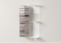 Bookshelves - 60 cm Vertical bookcase - Set of 2