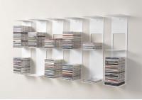 Bookshelves - 60 cm Vertical bookcase - Set of 6