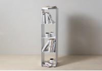 Würfelregal – Stahlsäulenmöbel – 4 ablagen