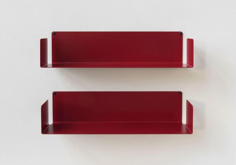 """Floating shelves  """"U"""" - 60 cm - Set of 2"""