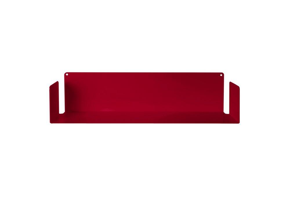 """Mensola di design """"U"""" Rosso"""