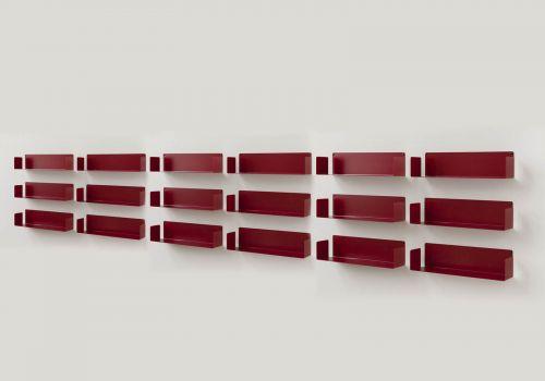 """Estantes de pared Rojo """"U""""..."""