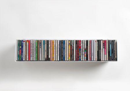 Mensola porta cd mensole a muro di design porta cd teebooks teebooks - Scaffali porta cd ...