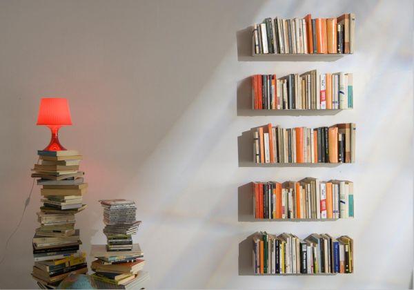 Bücherregal wand