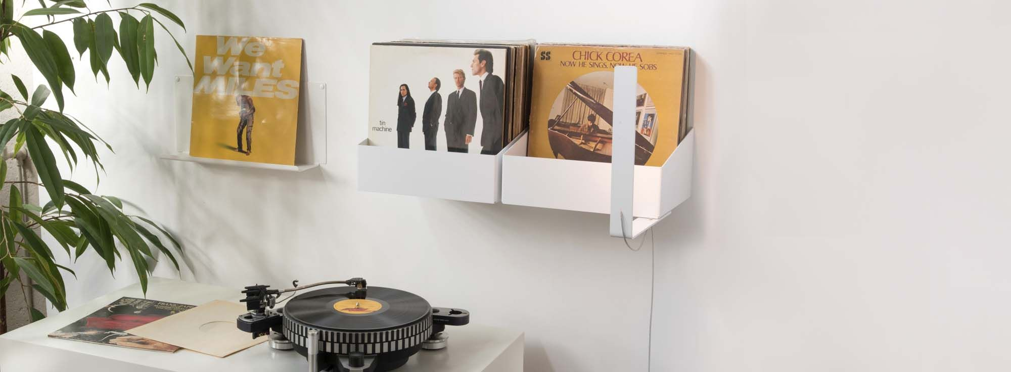 Store your records with style